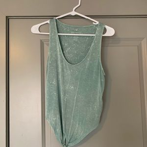 Green/blue American Eagle top Size Small
